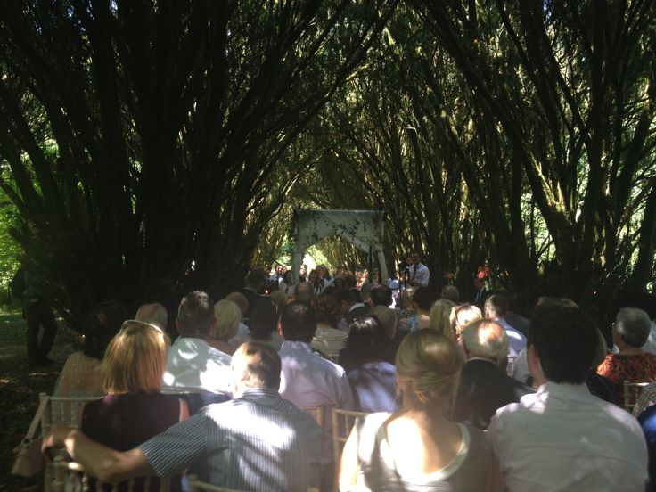 Beautiful ceremony in Yew Walk