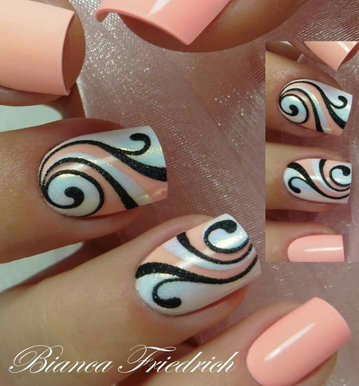 EVERYDAY: Very Beautiful Colourful Nail design for a prom or a party - 183 Best Nail Art Images On Pinterest Nail Scissors, Nail Arts