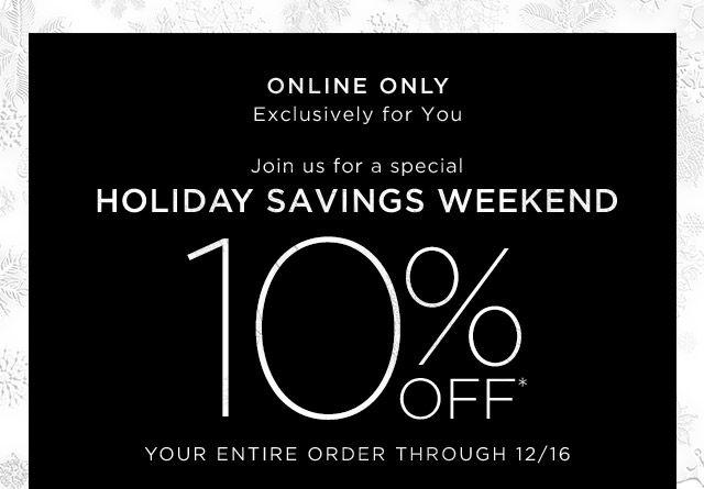 #Saks 10% off entire order PROMO CODE: SAKS24DAAYB7 at checkout.