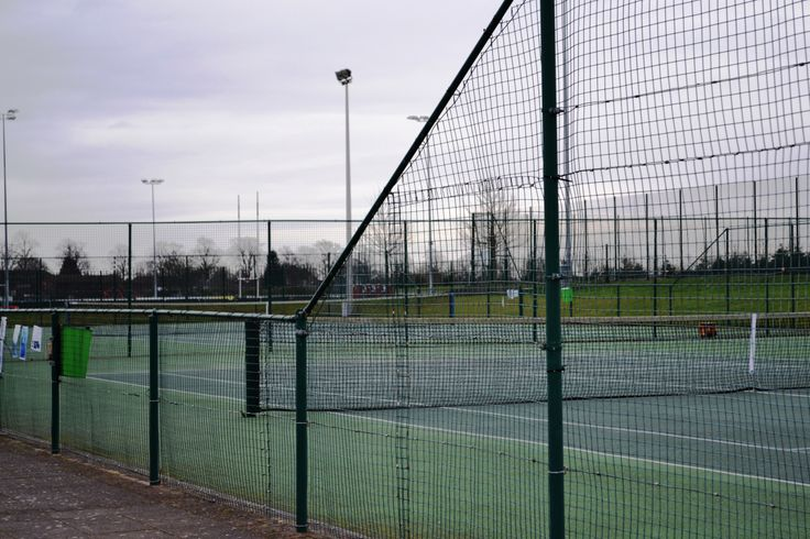 one of the outdoor courts