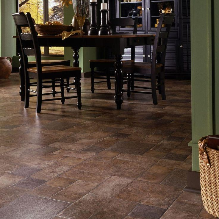 Bring The Authentic Look Of Hardwood To Your Home By Adding Innovations Tuscan Stone Terra Click Lock Laminate Flooring