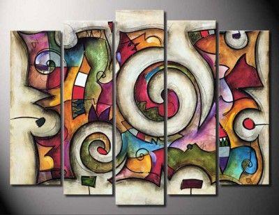 cuadros abstractos famosos para decorar                              …