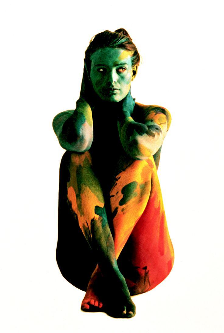 Roberto Edwards Concepción Balmes (Chile) Cuerpos Pintados - Painted Bodies | On loan from Holden Luntz Gallery