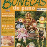 Cantinho da Titi (Moldes e riscos para artesanato): ***Revista Bonecas de Pano***