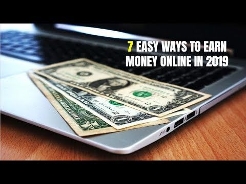 7 Easy Ways to Earn Money Online in 2019 – YouTube – C.V.