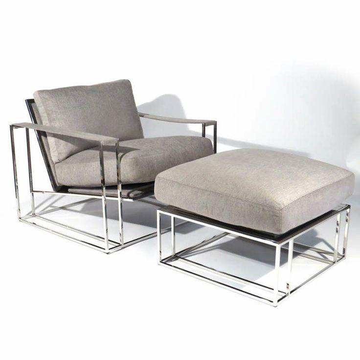 Elegant Milo Baughman Chair