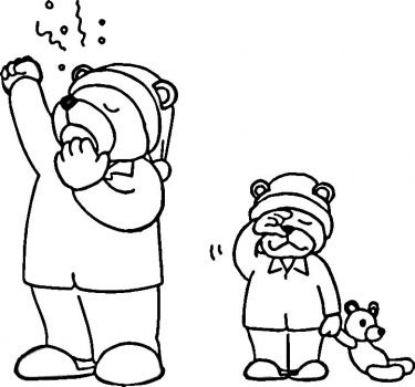 hibernation coloring pages preschool halloween - photo#23