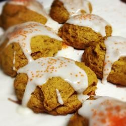 Iced Pumpkin Cookies | Please Sir, May I have some More? | Pinterest
