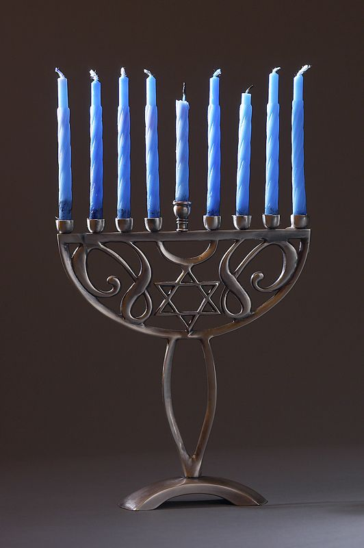 Menorah for Chanukah - Chanukah is also known as the Festival of Lights. The Menorah is used to celebrate an 8 day miracle G-d performed.