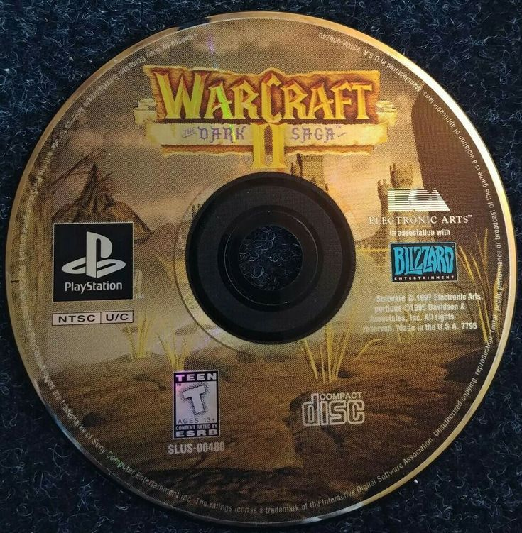 warcraft 2 ps1 controls