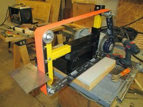 "DIY Knifemaker's Info Center: BG272 - DIY 2 x 72"" Belt Grinder"