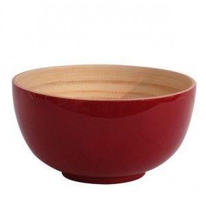 Salad bowl TCHON (various colours). Designed by Bibol. Available on www.darwinshome.com