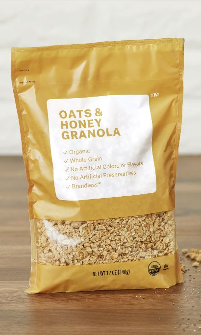 Organic Oats & Honey Granola