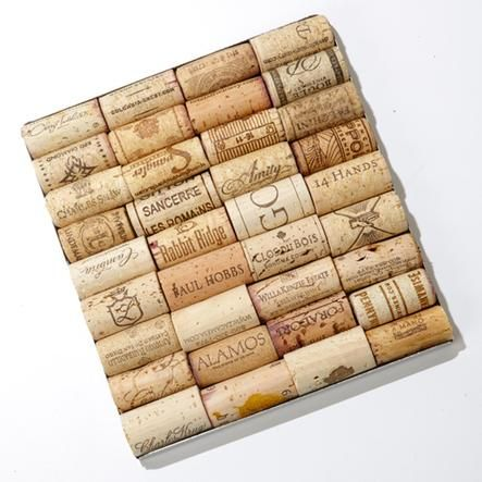 Help friends put their wine corks to good use with this awesome trivet. (It's just one of 8 amazing gifts for the home:  http://www.womenshealthmag.com/life/holiday-gift-guide-nesting-cuties?cm_mmc=Pinterest-_-womenshealth-_-content-life-_-gifstfornestingcuties)