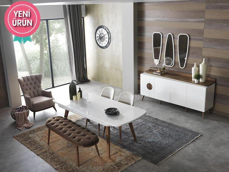 Wohnzimmereinrichtung modern  50 besten Modern Yemek Odası Bilder auf Pinterest   Stil, Modernes ...