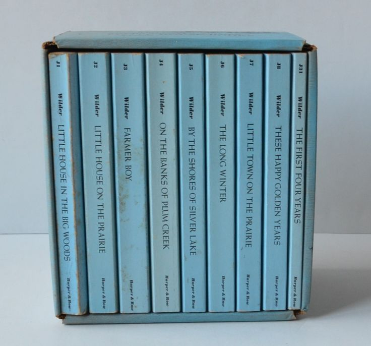 The Little House Books Complete Set by Laura Ingalls ...