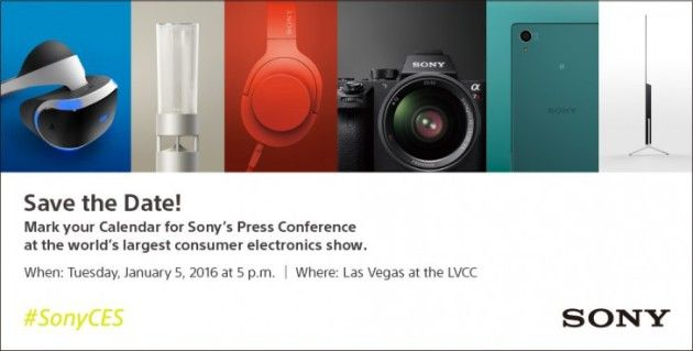 CES 2016 : Sony tiendra sa conférence de presse le 5 janvier - http://www.frandroid.com/marques/sony/326826_2016-sony-tiendra-conference-de-presse-5-janvier  #Sony
