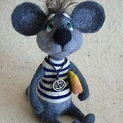 Куклы и игрушки ручной работы. Ярмарка Мастеров - ручная работа Мышонок Джеймс Браун. Handmade.