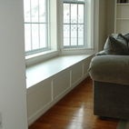 Bay window bench