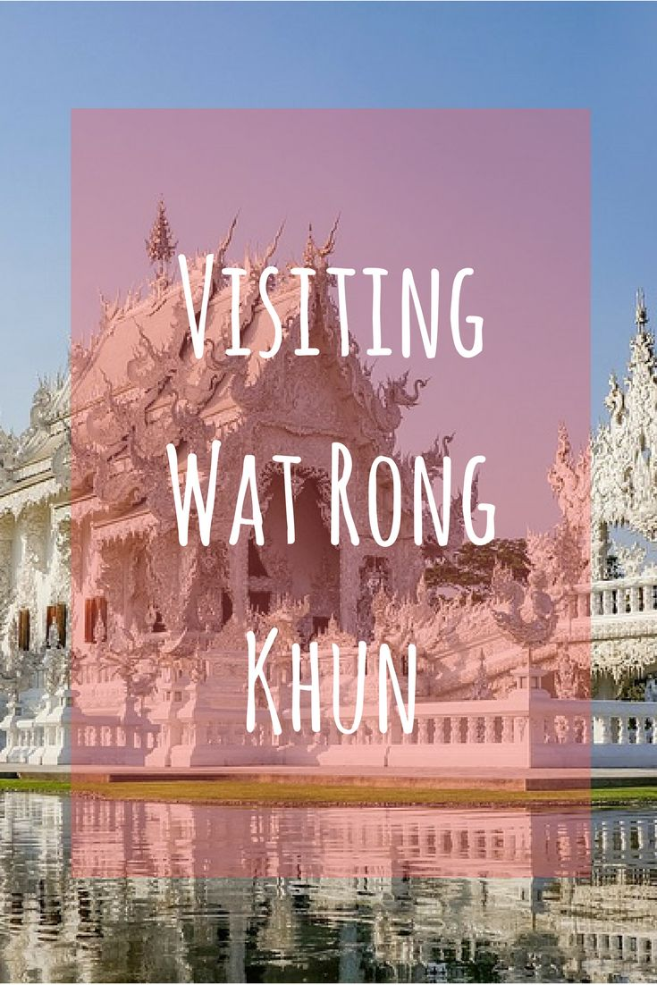 Thinking of going from Chiang Mai to White Temple? Read this first #whitetemple #chiangrai #travel