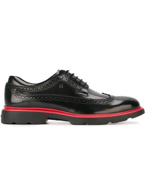 Hogan Derby brogue shoes