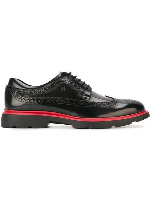 Hogan Derby brogue shoes
