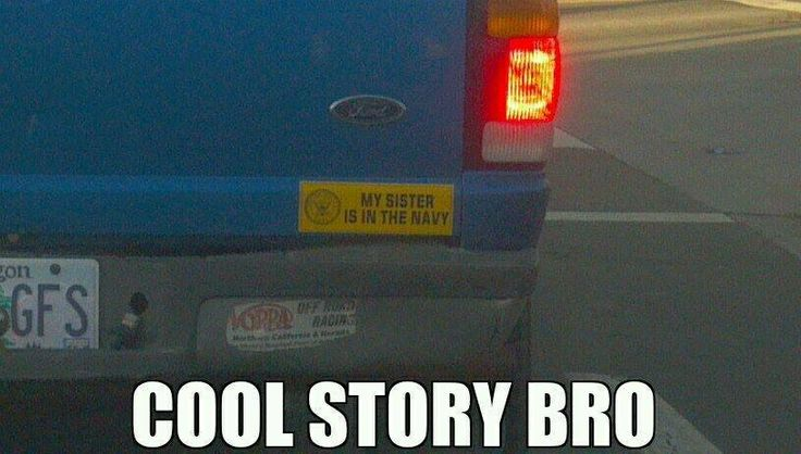 ⚓️buying my marine brother this bumper sticker waiting for that ass kicking❤️
