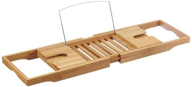 Bambusowa półka łazienkowa na wannę. 100% bambus!