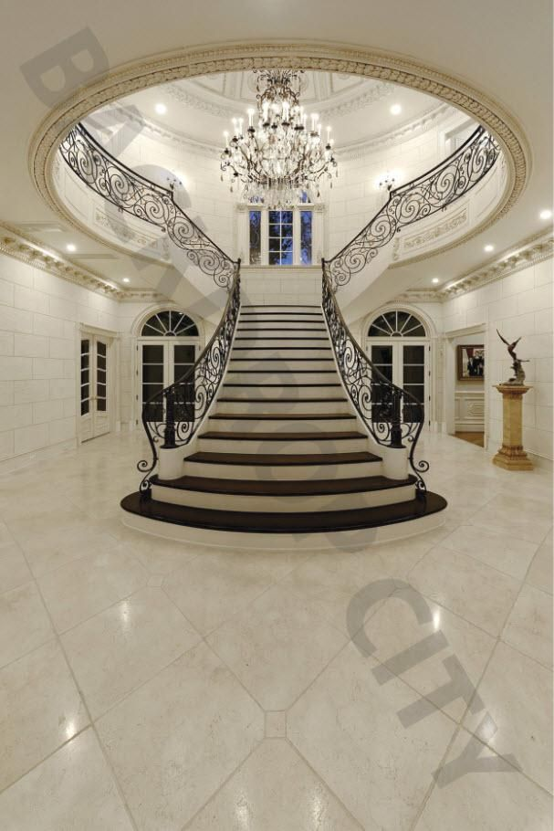 Elegant Ivory Stair Backdrop