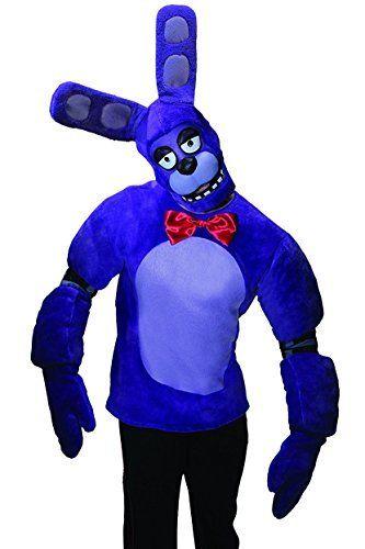 Rubie's Men's Five Nights At Freddy's Bonnie Costume, Multi, Small