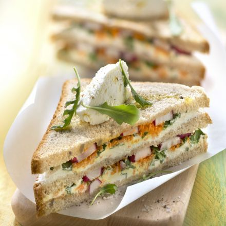 Club sandwich végétarien au Philadelphia®