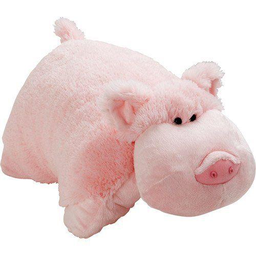 Mookie le Cochon Peluche Oreiller