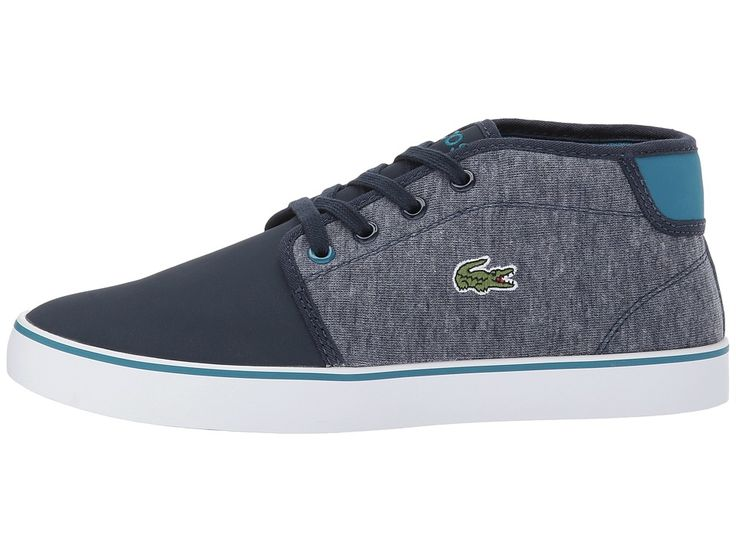 Lacoste Kids Ampthill 317 1 (Little Kid/Big Kid) Kid's Shoes Navy