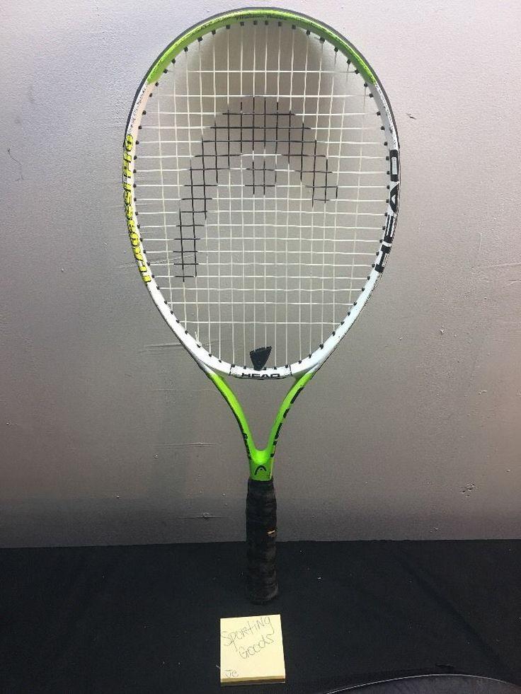 Head Tennis Racket Ti.Agassi Pro Titanium Used Strung 4/3/8