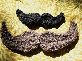Mustache Applique. I've been getting a lot of requests for moustaches. This one is easy!