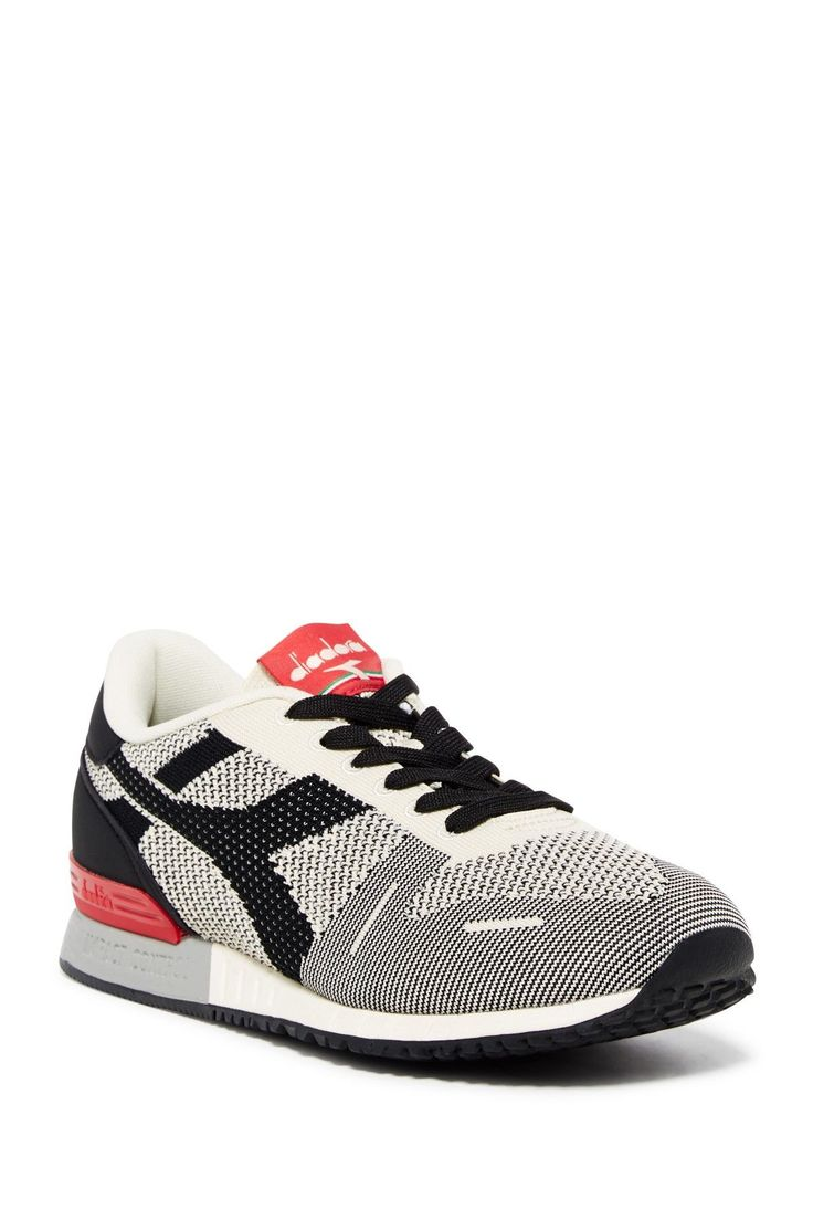 Diadora Titan Weave Knit Sneaker #MensFashionRugged