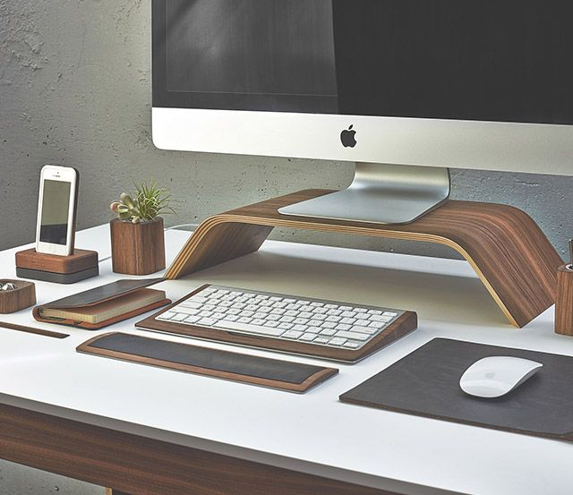 Handcrafted Walnut Desk Collection