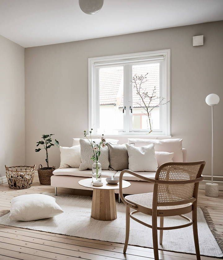 Beige Studio Home Via Coco Lapine Design Blog 90 Modern Living Room Interior Designs A Minimalist Living Room Modern Living Room Interior Beige Living Rooms #simple #living #room #design #ideas