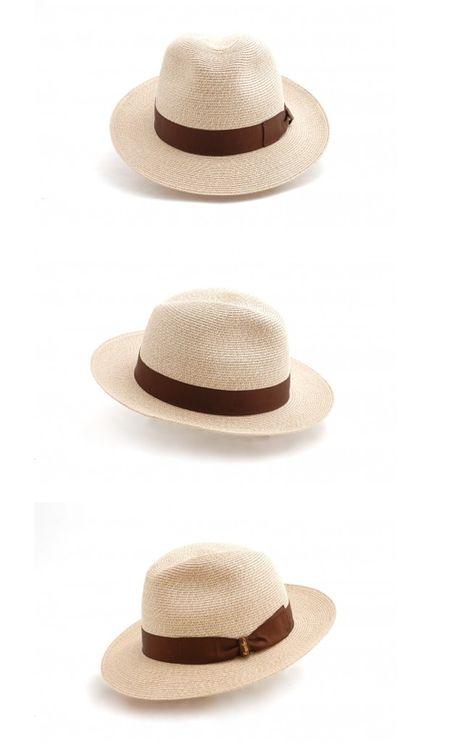 Borsalino Straw Hat
