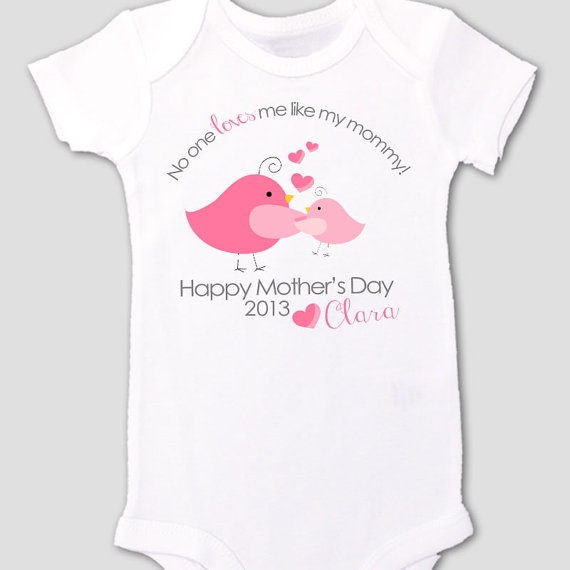 first mothers day onesie from baby  sweet mothers by zoeysattic #omnihotels #sweepstakes