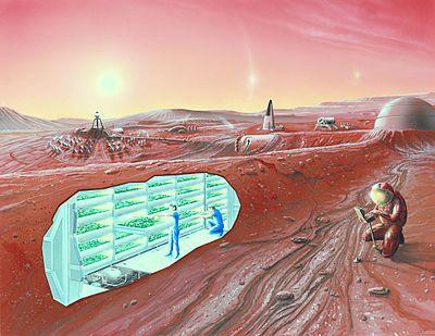 Colonization of Mars - Wikipedia, the free encyclopedia