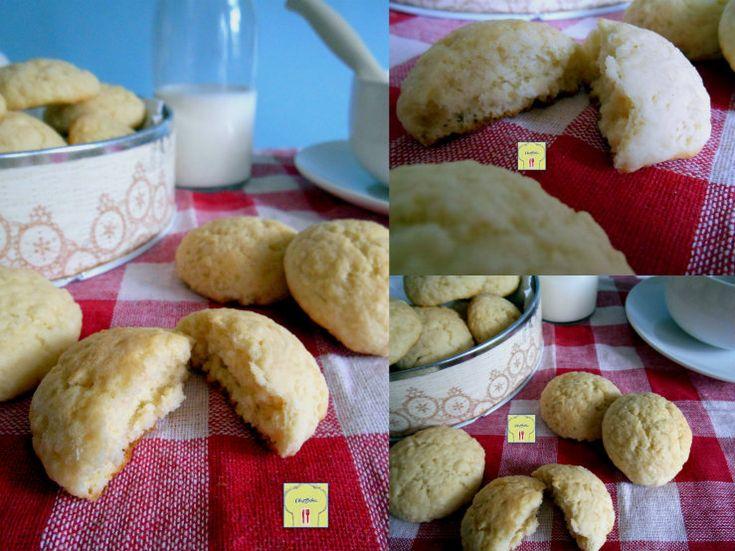 Biscotti morbidi al latte, ricetta facile