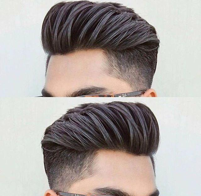 Hair style #Man #Pompadour