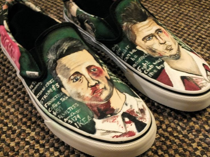 Fight Club shoes