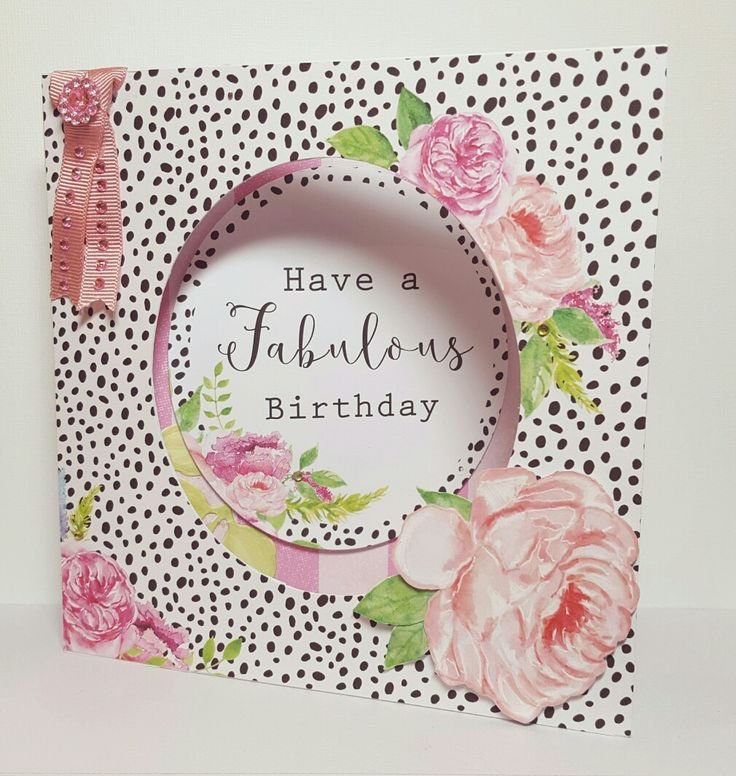 Card created by Jennifer Kray for Craftwork Cards using the Heritage Rose Collection.