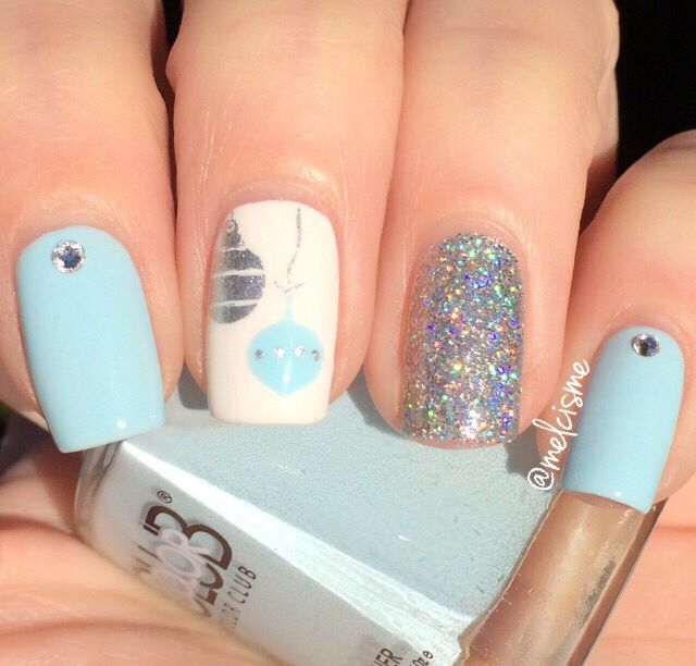 70 best Winter Manicures images on Pinterest  Nail decals Nail