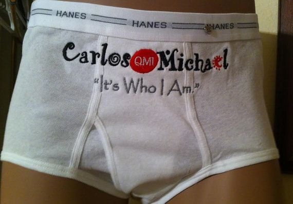 Embroidered Mens Briefs