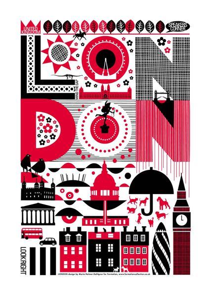 Maria Dahlgren London Tea Towels