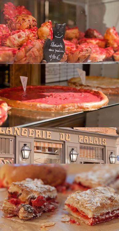 """Vieux Lyon // Halte obligatoire pour tous les gourmands à la Boulangerie du Palais ! - The best bakery in Old Lyon for the famous """"praline rose"""" delights http://www.legoutdesotres.fr/la-boulangerie-du-palais-lyon-5me/"""