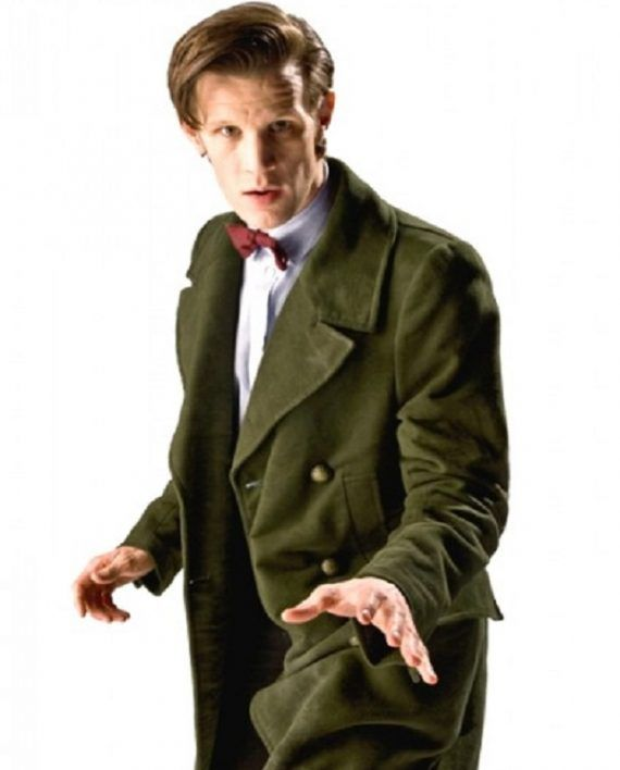 Doctor Who 11th Doctor Green Coat